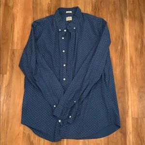 J Crew Casual Button Down Shirt